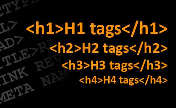 معرفی تگ های هدر h1,h2 و استفاده اصولی از آنها